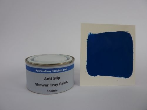 1 x 150ml Royal Blue Anti Slip Shower Tray And Bath Paint