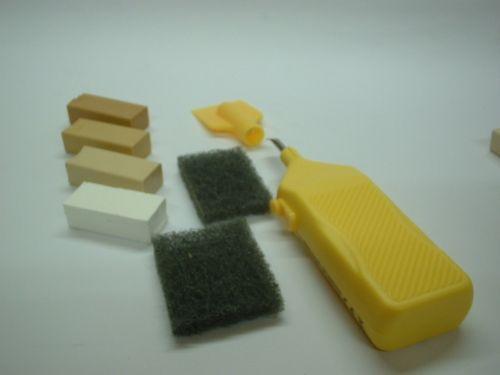 Repair Cream, White Laminate Floor Kitchen Worktop Door