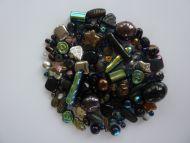 250 Mixed Glass Acrylic Jewellery Making Craft Beads Disco Nights