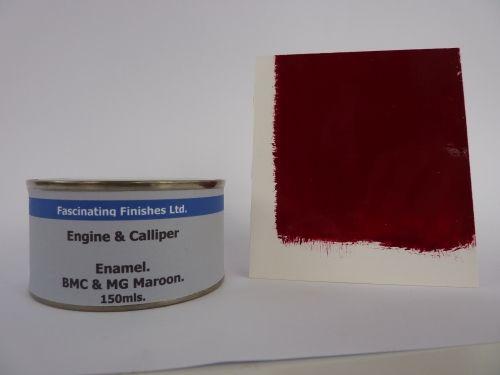 150ml Brake Caliper & Engine Heat Resistant Paint BMC & MG Maroon
