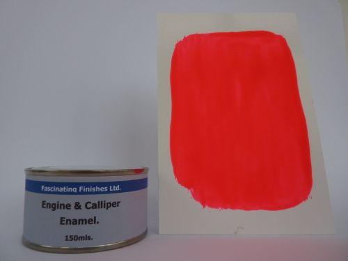 150ml Brake Caliper & Engine Heat Resistant Paint Fluorescent Pink