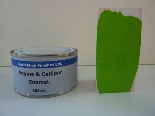 150ml Brake Caliper & Engine Heat Resistant Gloss Paint Lime Green