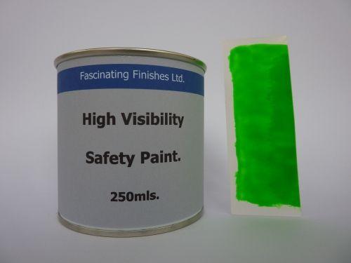 250mls Hi Vis Fluorescent High Safety Marking Paint Fluorescent Green