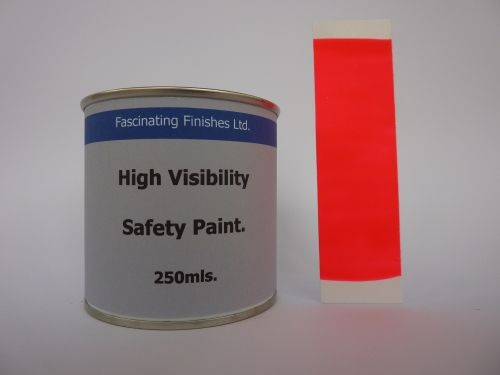 250Mls Hi Vis Fluorescent High Safety Marking Paint Fluorescent Pink
