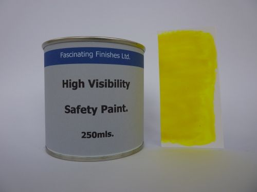 250mls Hi Vis Fluorescent High Safety Marking Paint Fluorescent Yellow