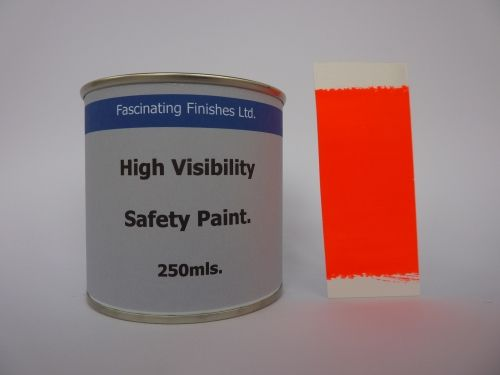 250Mls Hi Vis Florescent High Safety Marking Paint Fluorescent Red