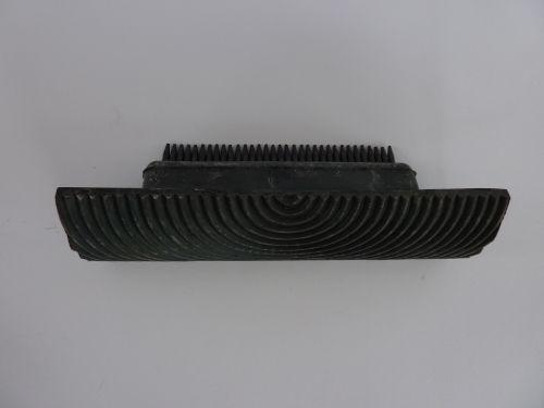 1 x Wood Graining Comb Use With Scumble Glaze Wood Grain