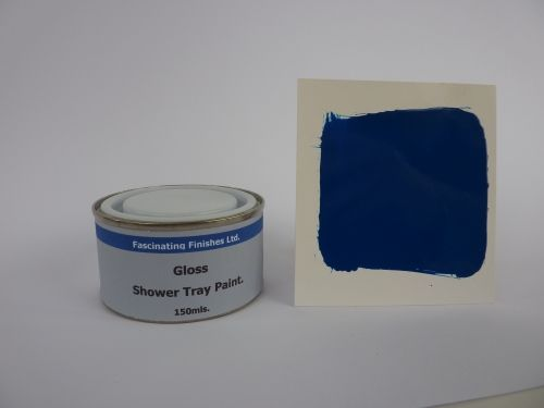 1 x 150ml Royal Blue Gloss Shower Tray Paint