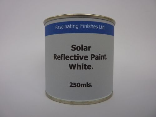 250ml  White Conservatory Glass Shading Paint Reduce Solar Heat