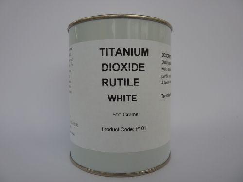 Titanium Dioxide White Pigment 500g Art Oil Paint Craft